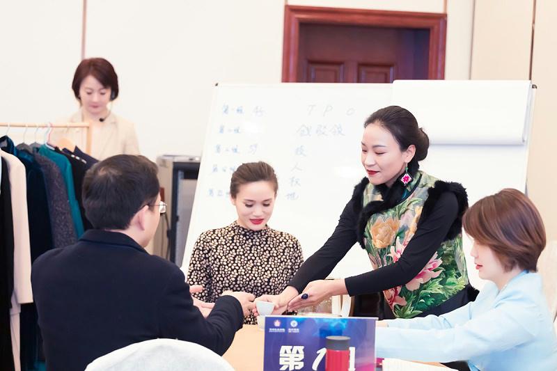 修齐礼仪高级礼仪培训师认证班培训茶礼教学