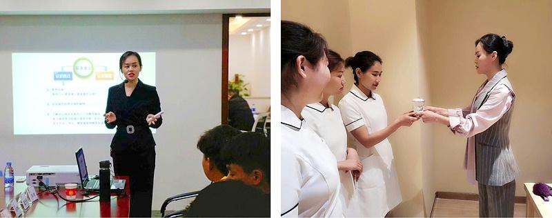 修齐礼仪高级讲师李营老师授课精彩照片