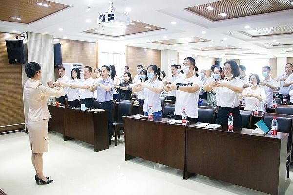 修齐礼仪四川德阳市委编制办公务礼仪培训