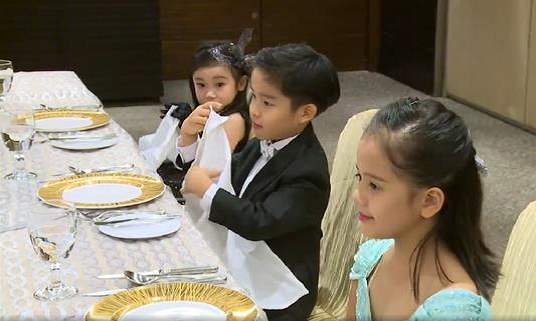 儿童礼仪培训师用餐礼仪培训课程