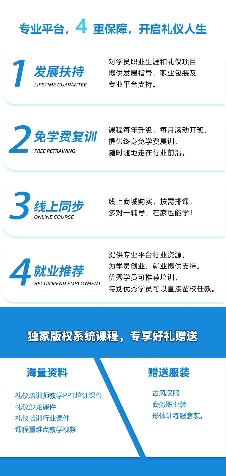 7修齐礼仪礼仪培训师职业能力成长系统