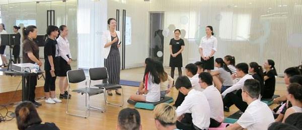 健身会所行业礼仪服务礼仪培训