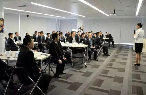 高级礼仪培训师郑老师受邀到苏宁集团总部开展《企业高管商务礼仪培训》